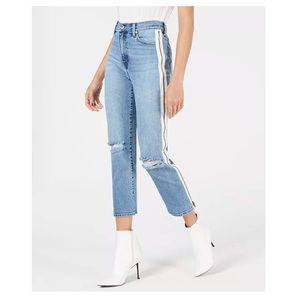 Like New: Kendall + Kylie Side Zip High Rise Jeans